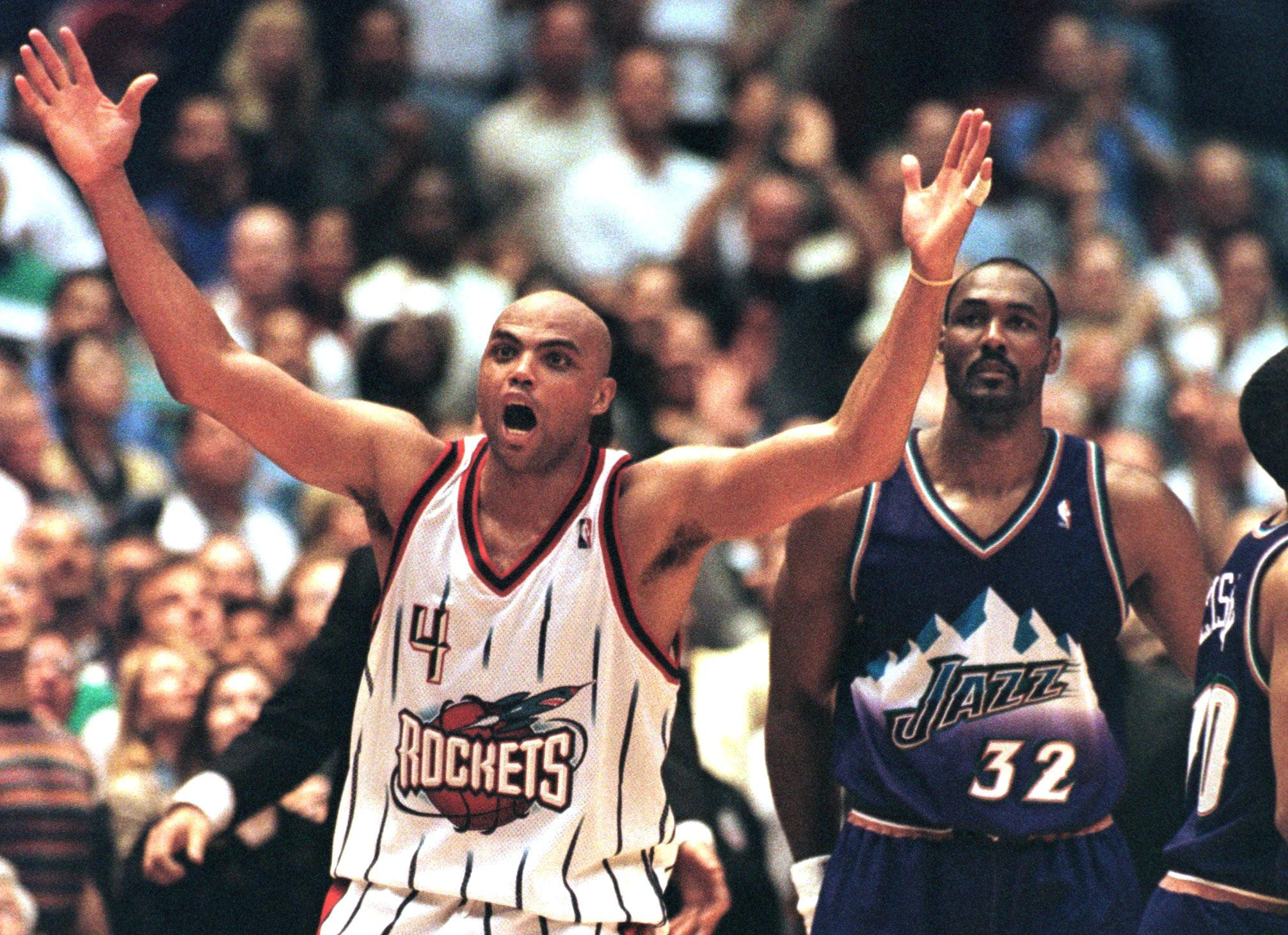 Charles Barkley enjoyed a stellar career where he was an 11-time NBA All-Star and a double Olympic gold medallist ©Getty Images