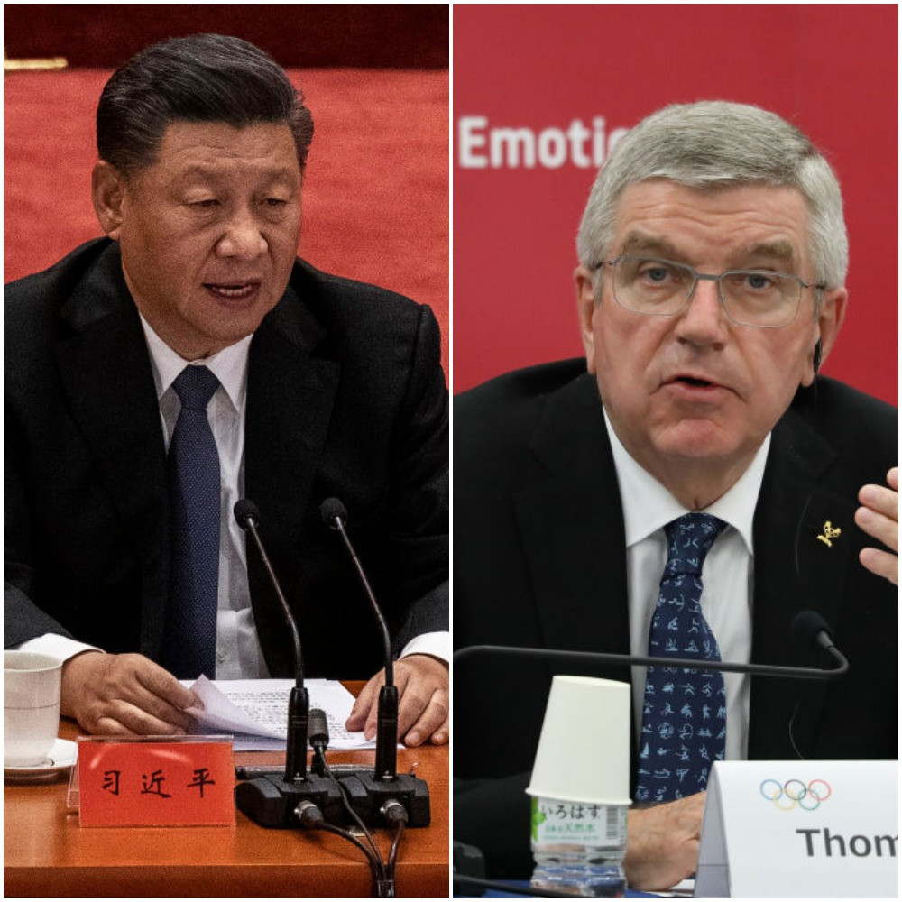 Bach and Xi discuss Beijing 2022 preparations on telephone call