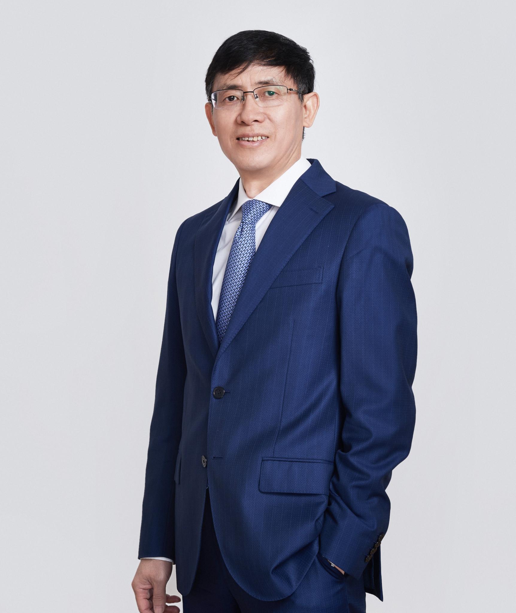 Zhou Jinqiang is running for IWF President ©CWA