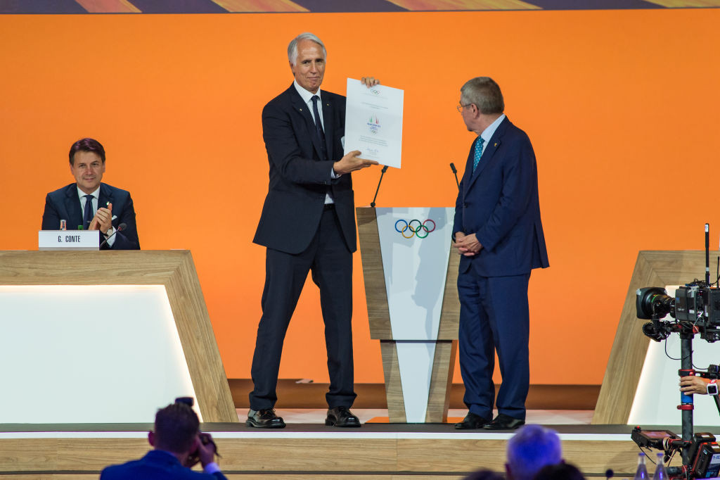 CONI President Giovanni Malagò has urged the Government to intervene to prevent Italy being sanctioned by the IOC ©Getty Images