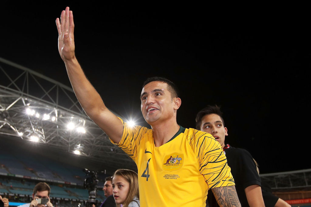 Footballer Tim Cahill, a 2004 Olympian, has received the Order of Australia in the Australia Day honours list ©Getty Images