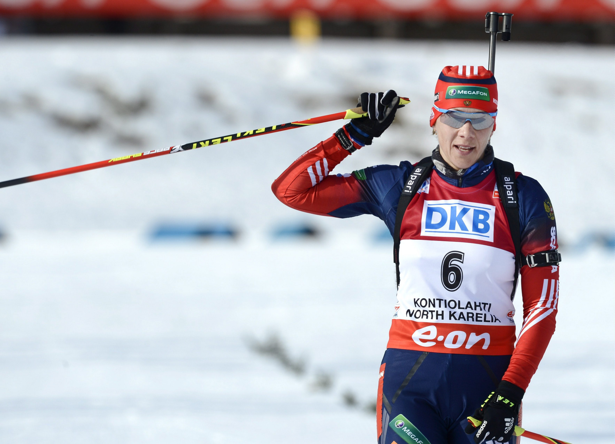 Nicole Resch allegedly provided strategic advice to assist CAS appeals of three Russian biathletes, including Olga Zaitseva ©Getty Images