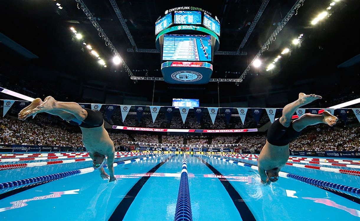 US Olympic swimming team trials split into two due to COVID-19