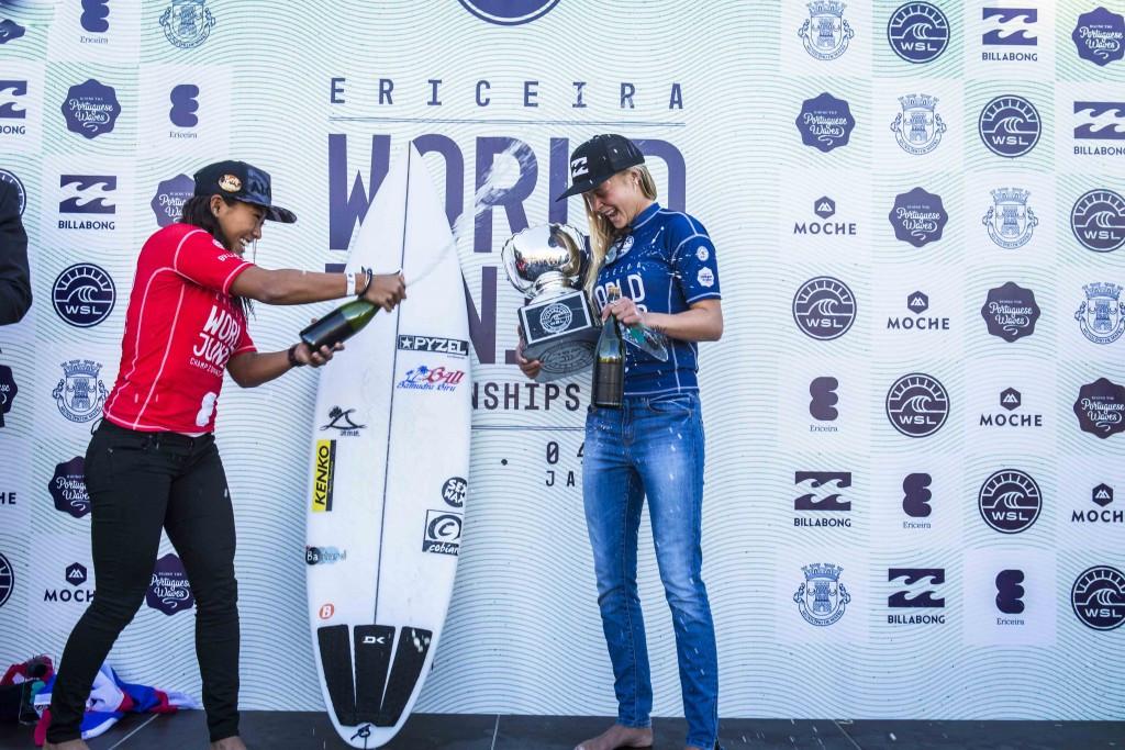 Australian Nichols beats title holder to World Junior Surfing Championships crown