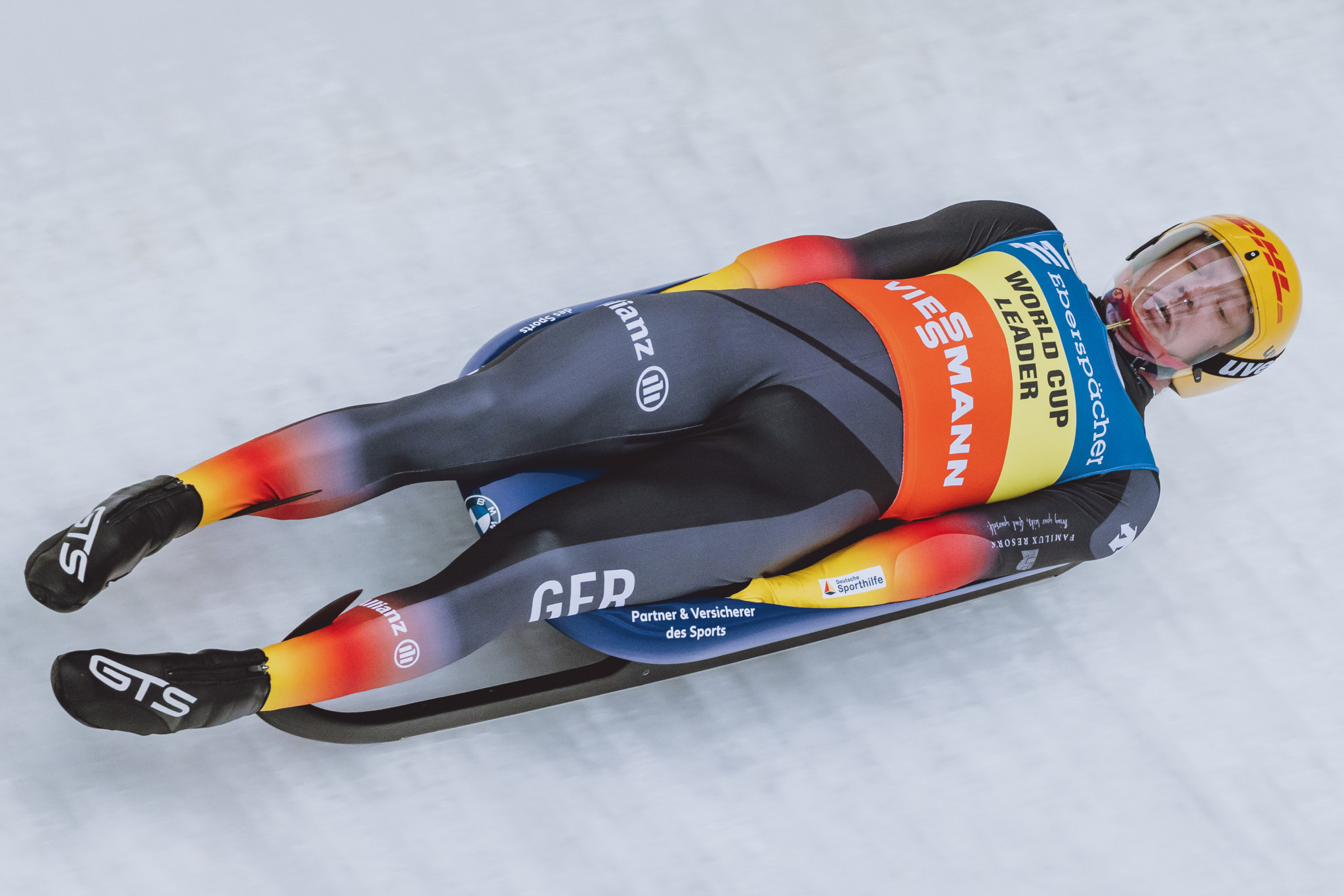 Germany's Felix Loch is considered a favourite for the men's singles title at the Luge World Championships ©Getty Images