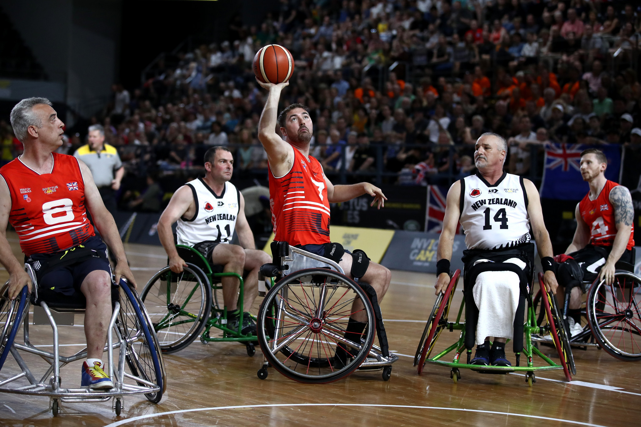 """British Wheelchair Basketball has launched its """"Inspire a Generation"""" programme ©Getty Images"""