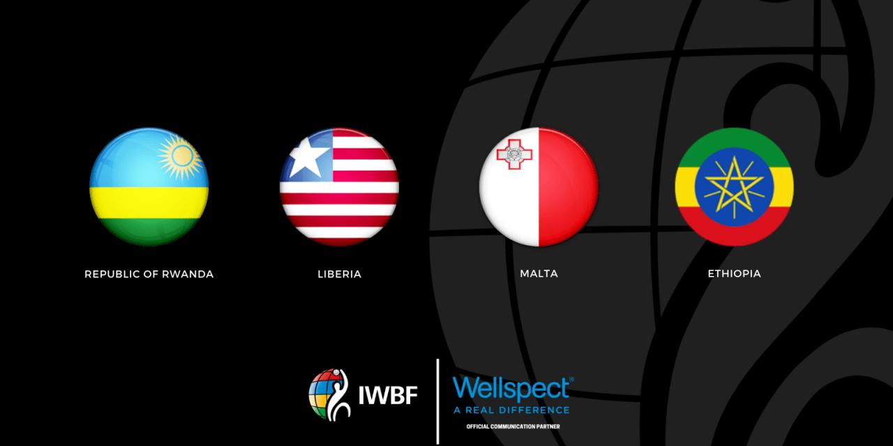 Rwanda, Liberia, Ethiopia and Malta approved as IWBF members
