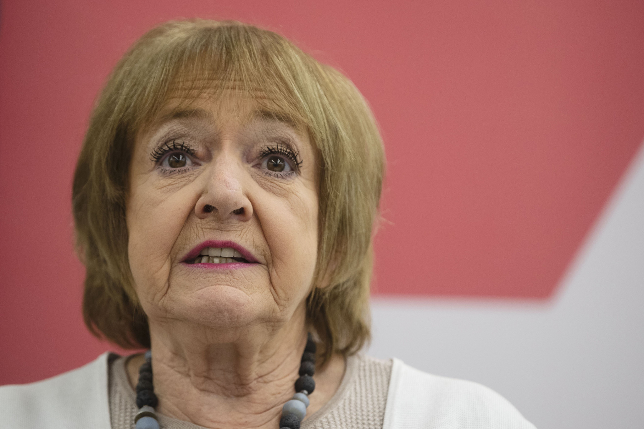 Labour's Dame Margaret Hodge was among those to urge the UK Government to sanction the individuals listed by Alexei Navalny ©Getty Images