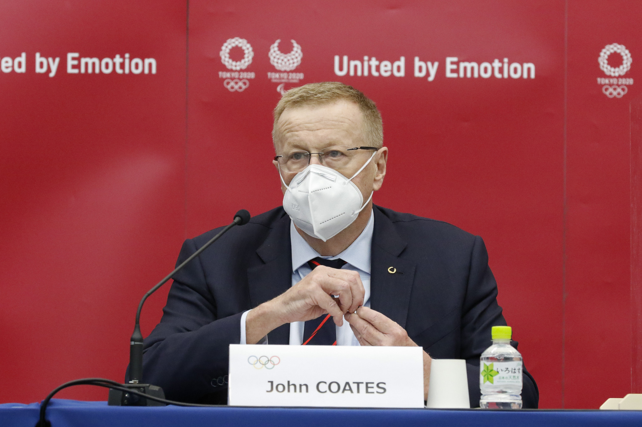John Coates said a decision on spectators should be left as late as possible ©Getty Images