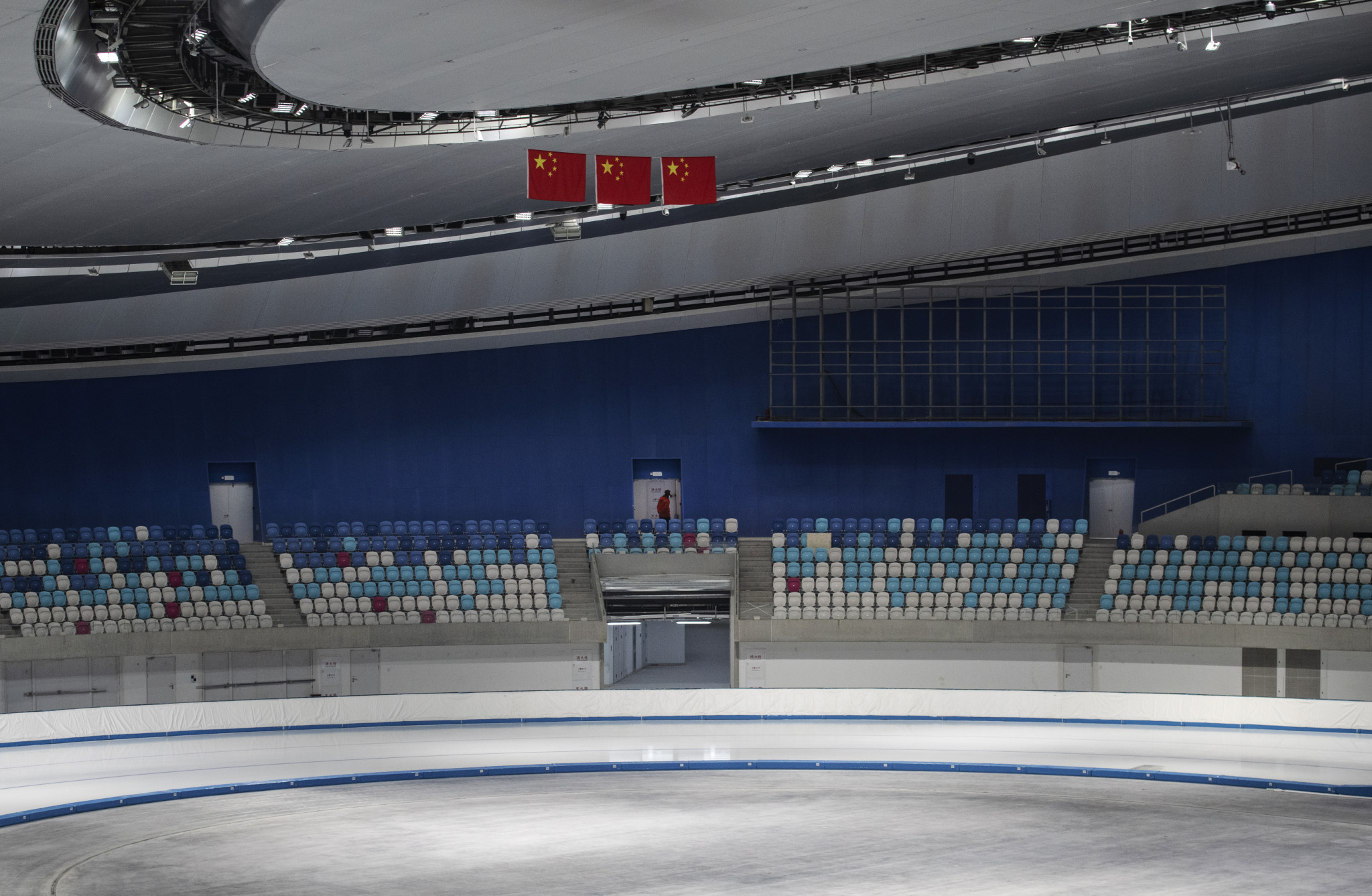 The National Speed Skating Oval is among the new venues built for Beijing 2022 ©Getty Images