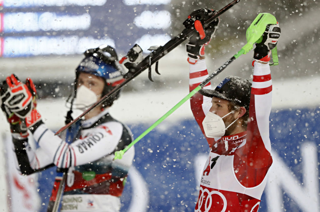 Schwarz seeks to build slalom lead in Alpine Ski World Cup Chamonix doubleheader