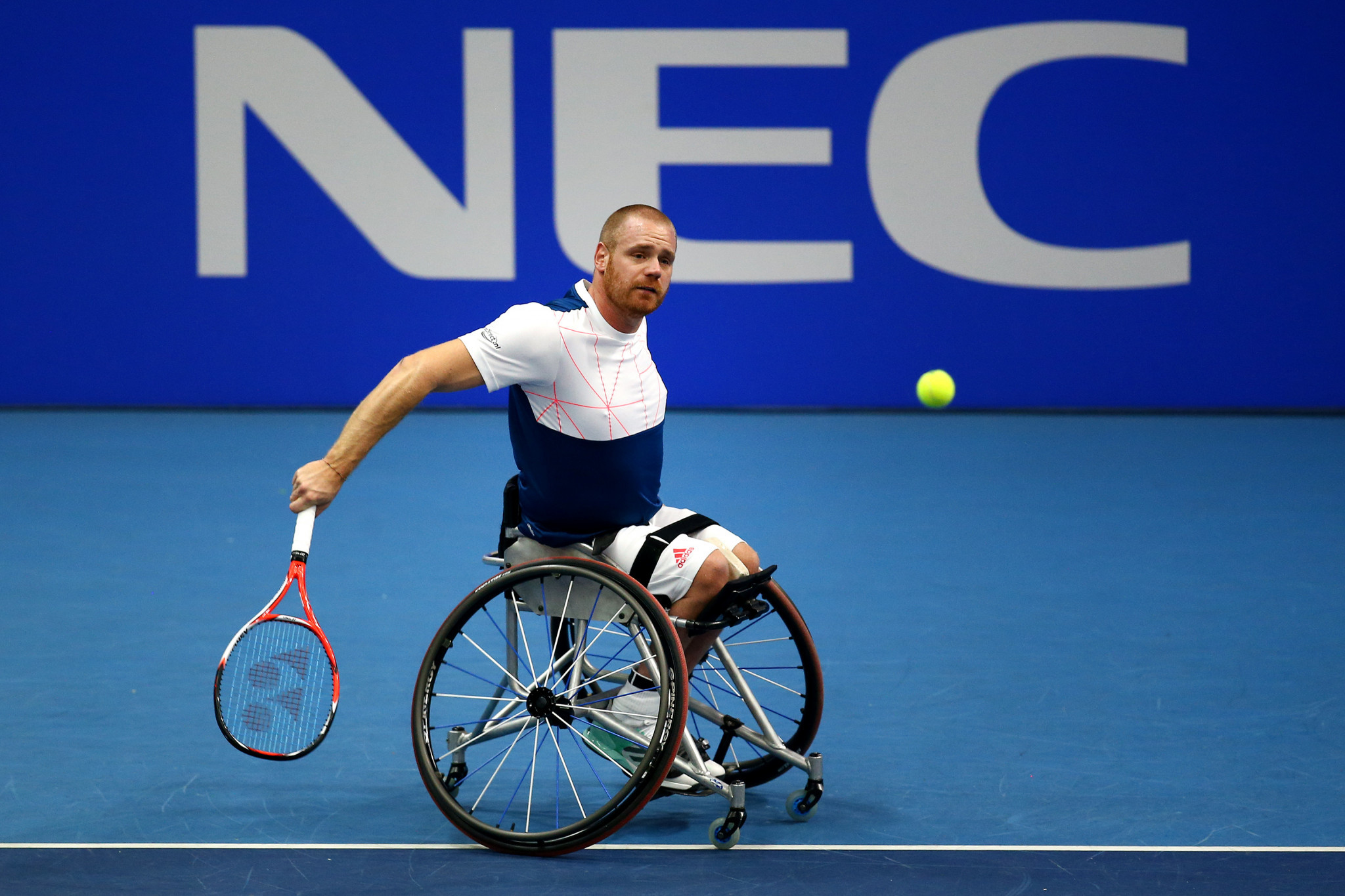 NEC extends Wheelchair Singles Masters title sponsorship until 2023