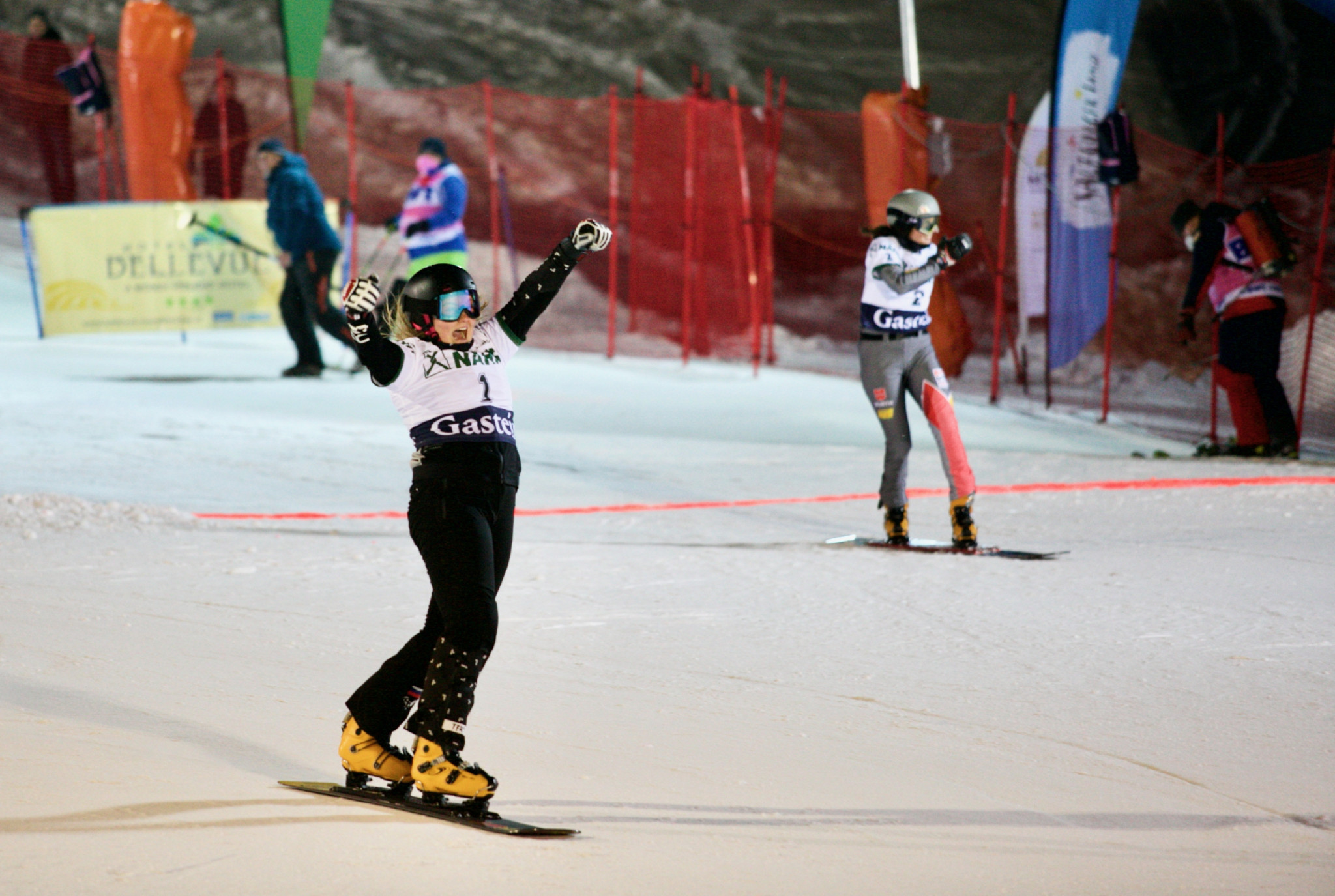 Nadyrshina seeking Snowboard World Cup hat-trick on home snow in Moscow