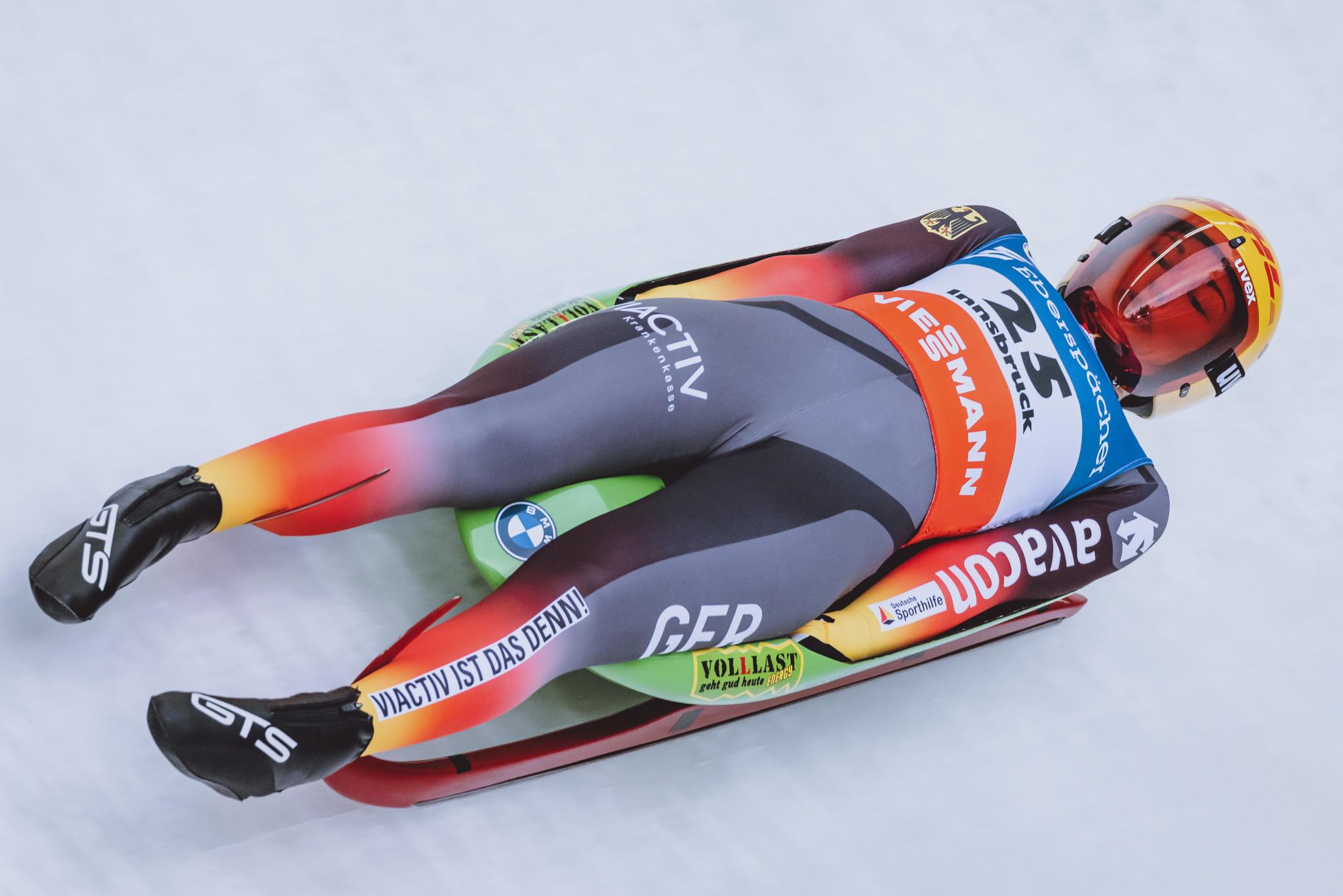 Gleirscher and Taubitz earn sprint titles at Luge World Championships