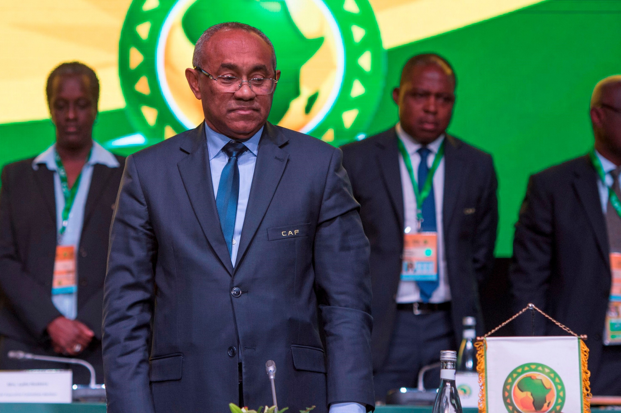Ahmad has been reinstated as Confederation of African Football President ahead of an appeal hearing ©Getty Images