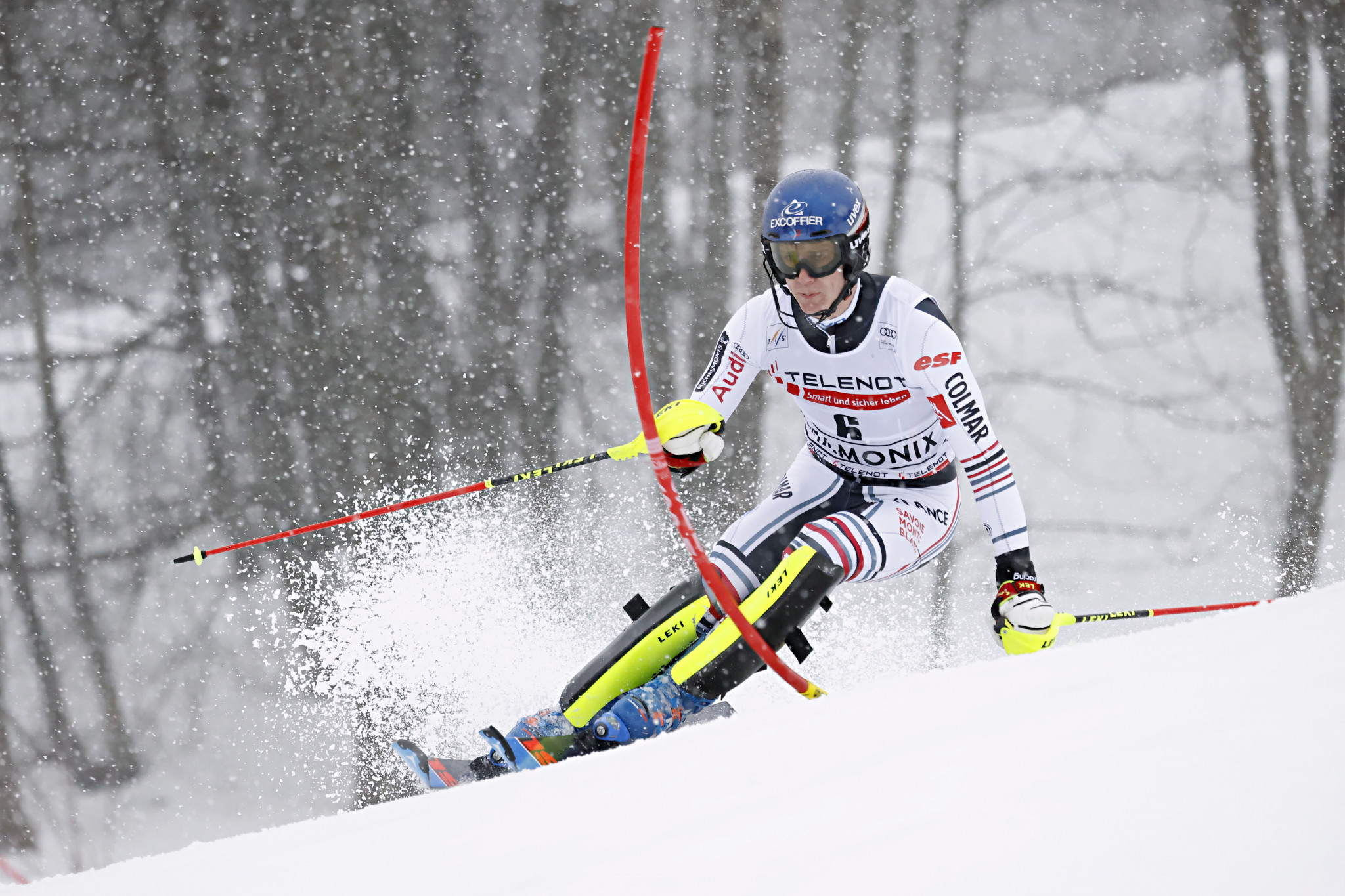 Noël regains winning feeling at Chamonix on first day of Alpine Skiing World Cup slalom doubleheader