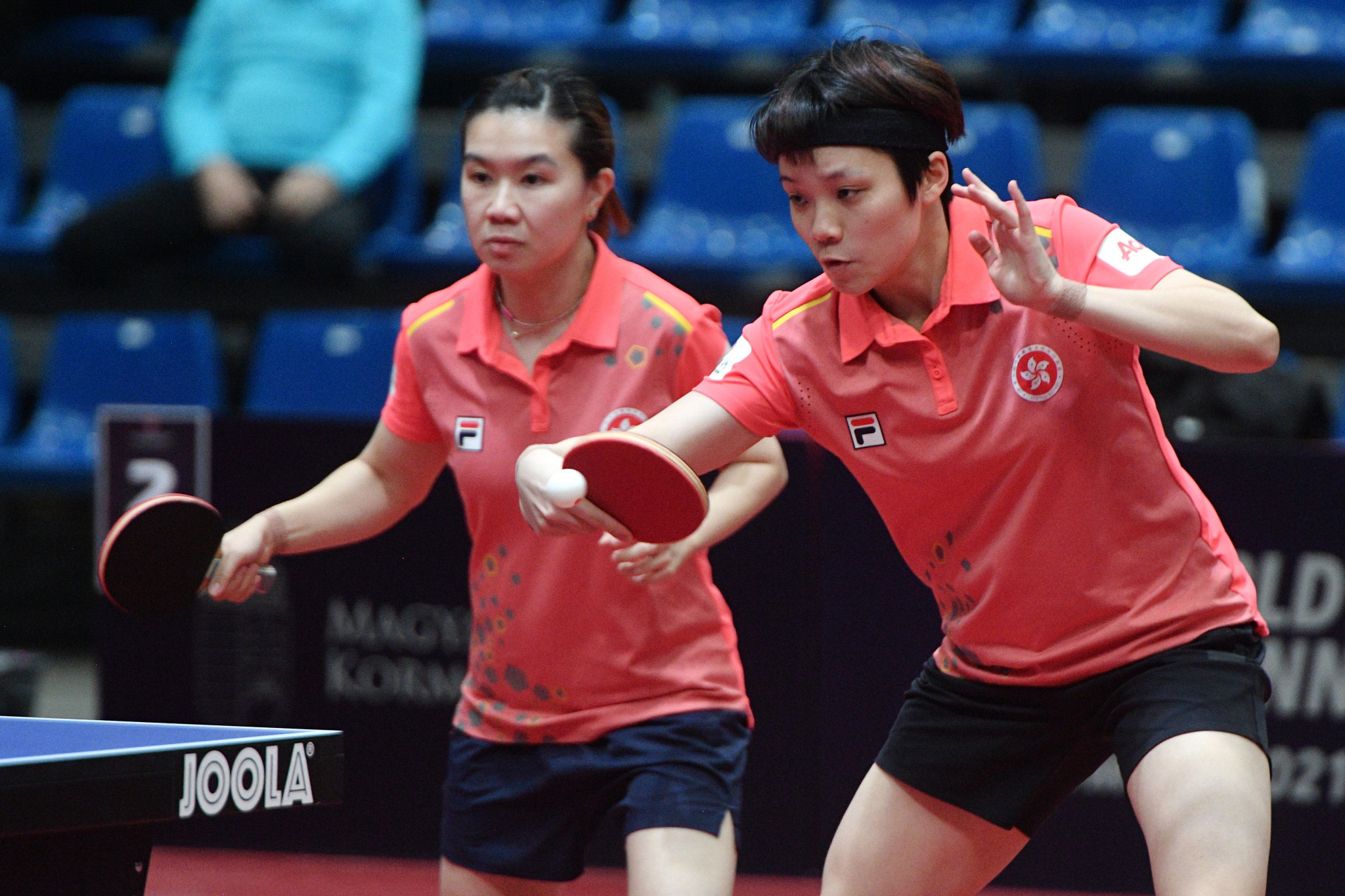 Hong Kong's table tennis team has been withdrawn from the two WTT events in Doha due to safety concerns ©Getty Images