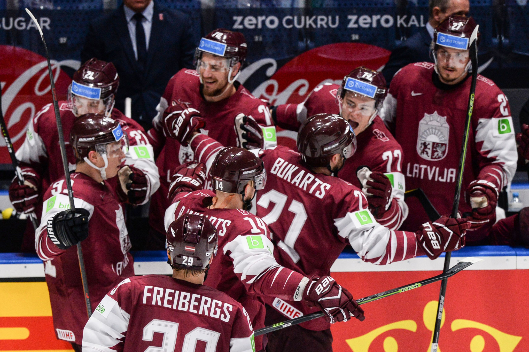 Latvia could become the sole host of this year's IIHF Men's World Championship ©Getty Images