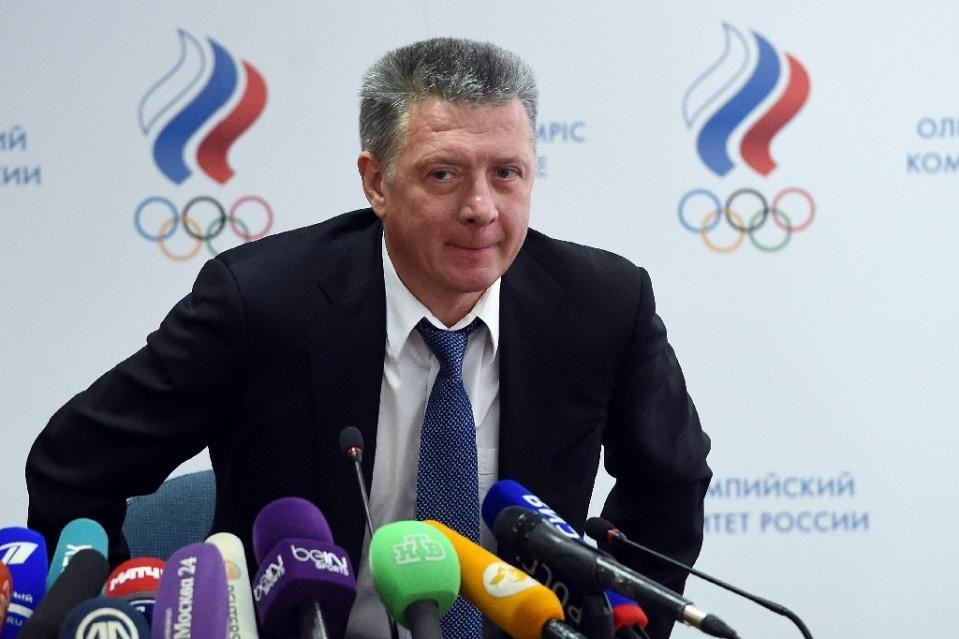Dmitry Shlyakhtin is the new President of the ARAF ©AFP/Getty Images