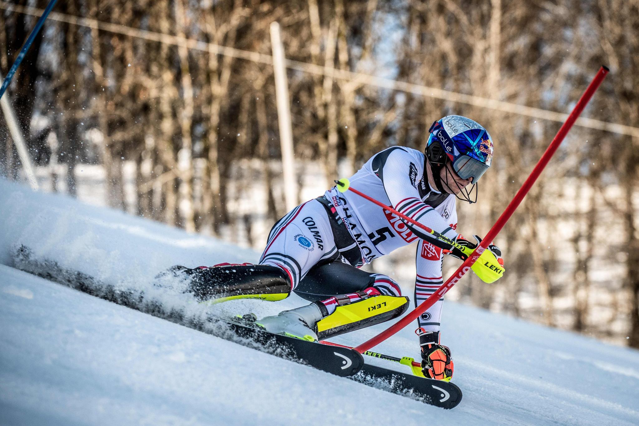 Kristoffersen wins on day of drama at Alpine World Cup in Chamonix