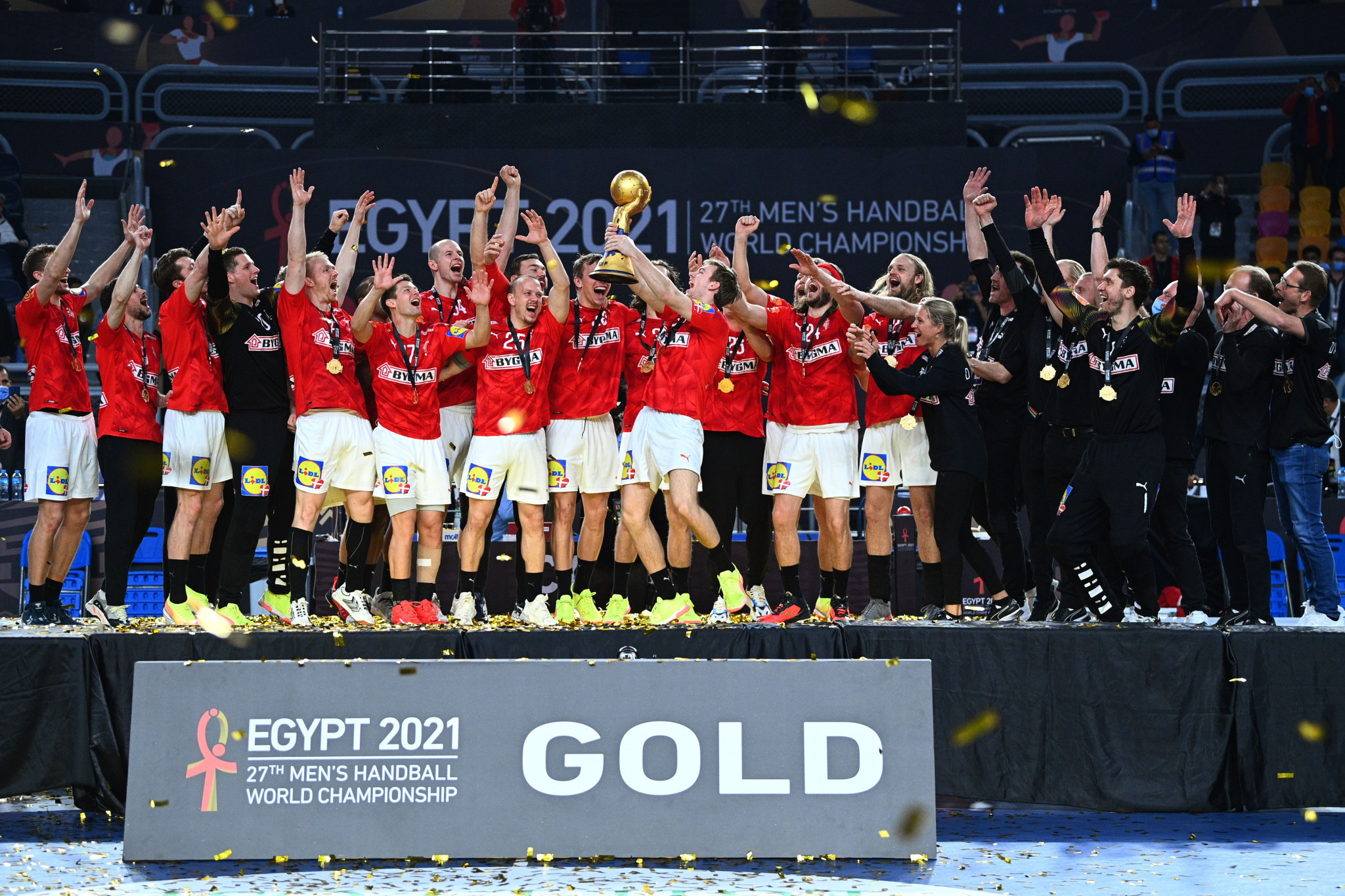 Denmark retained their World Men's Handball Championship title after edging out Scandinavian rivals Sweden in the final ©Getty Images