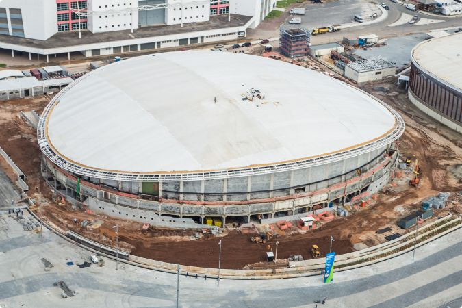 The test event at the Rio Olympic Velodrome has been pushed back until April ©Rio City Government/Renato Sette Camara