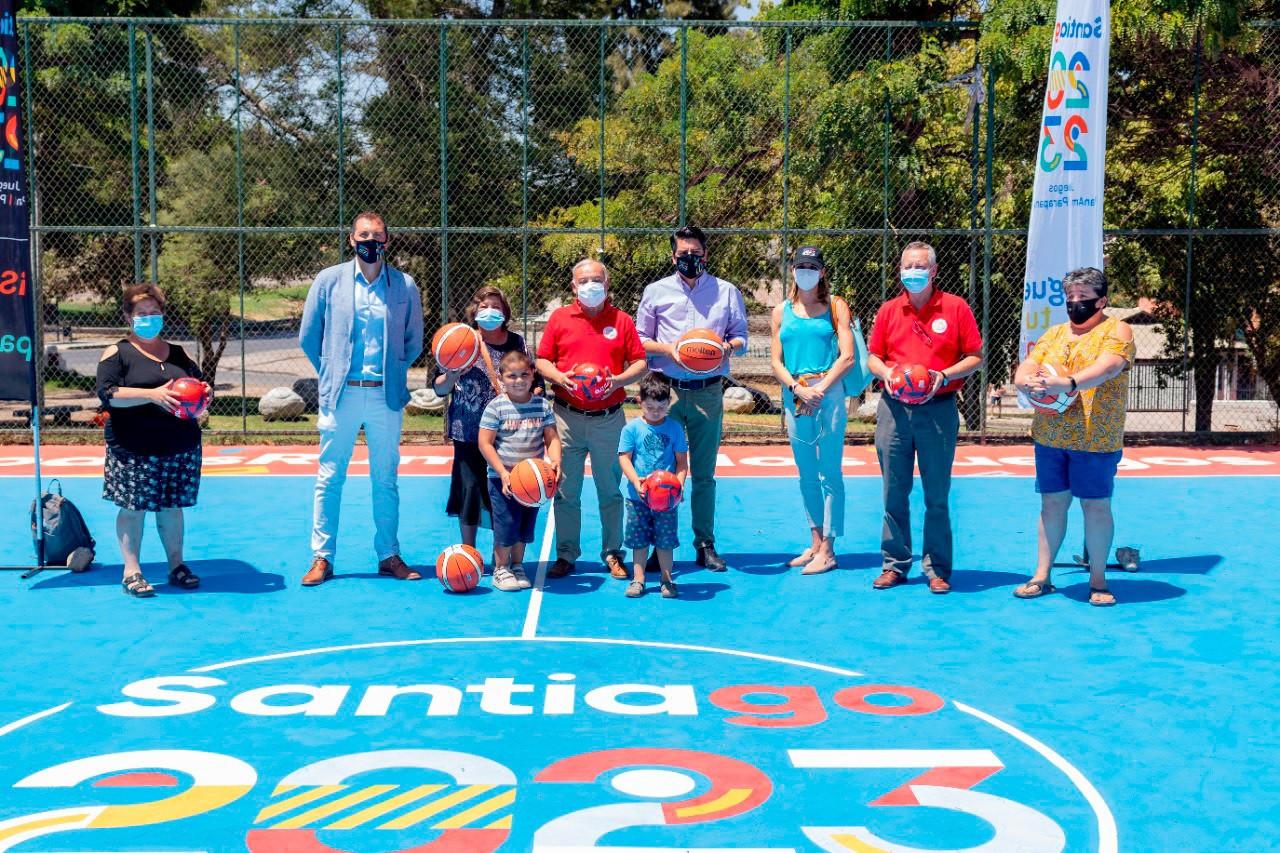 "Improving community facilities shows Pan American Games ""belong to everyone"", says Santiago 2023"