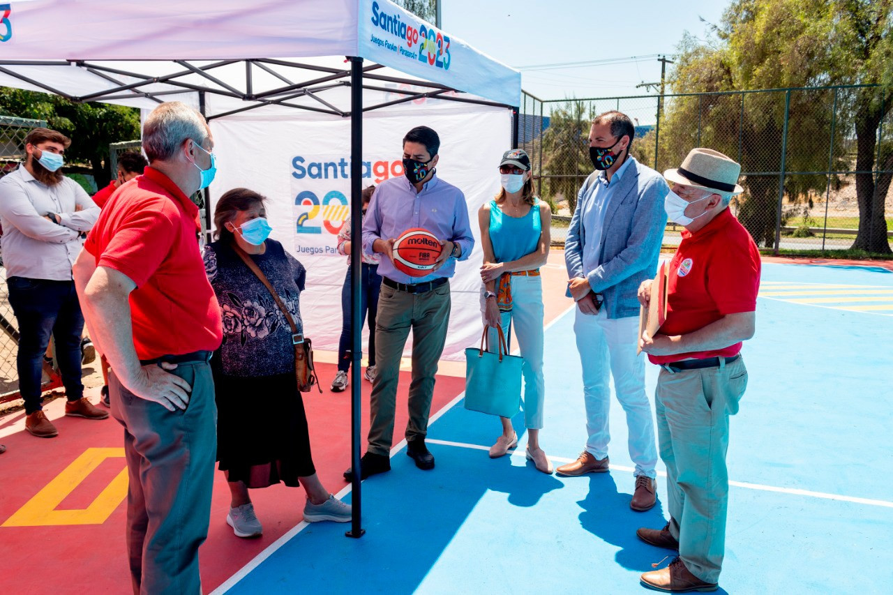 The aim of the revamp is to help make the community feel part of the 2023 Pan American Games ©Santiago 2023