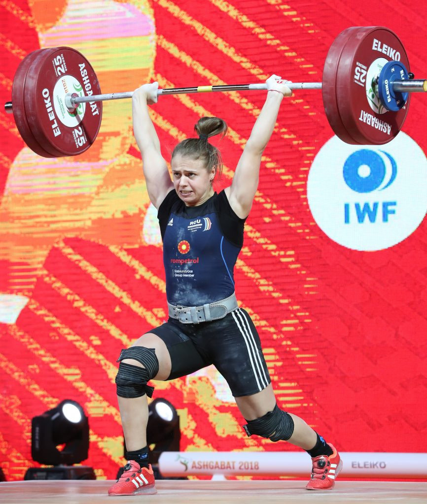 European champion Loredana Toma will miss out on Tokyo 2020 if Romania is banned from the Olympic Games because of its poor doping record ©IWF