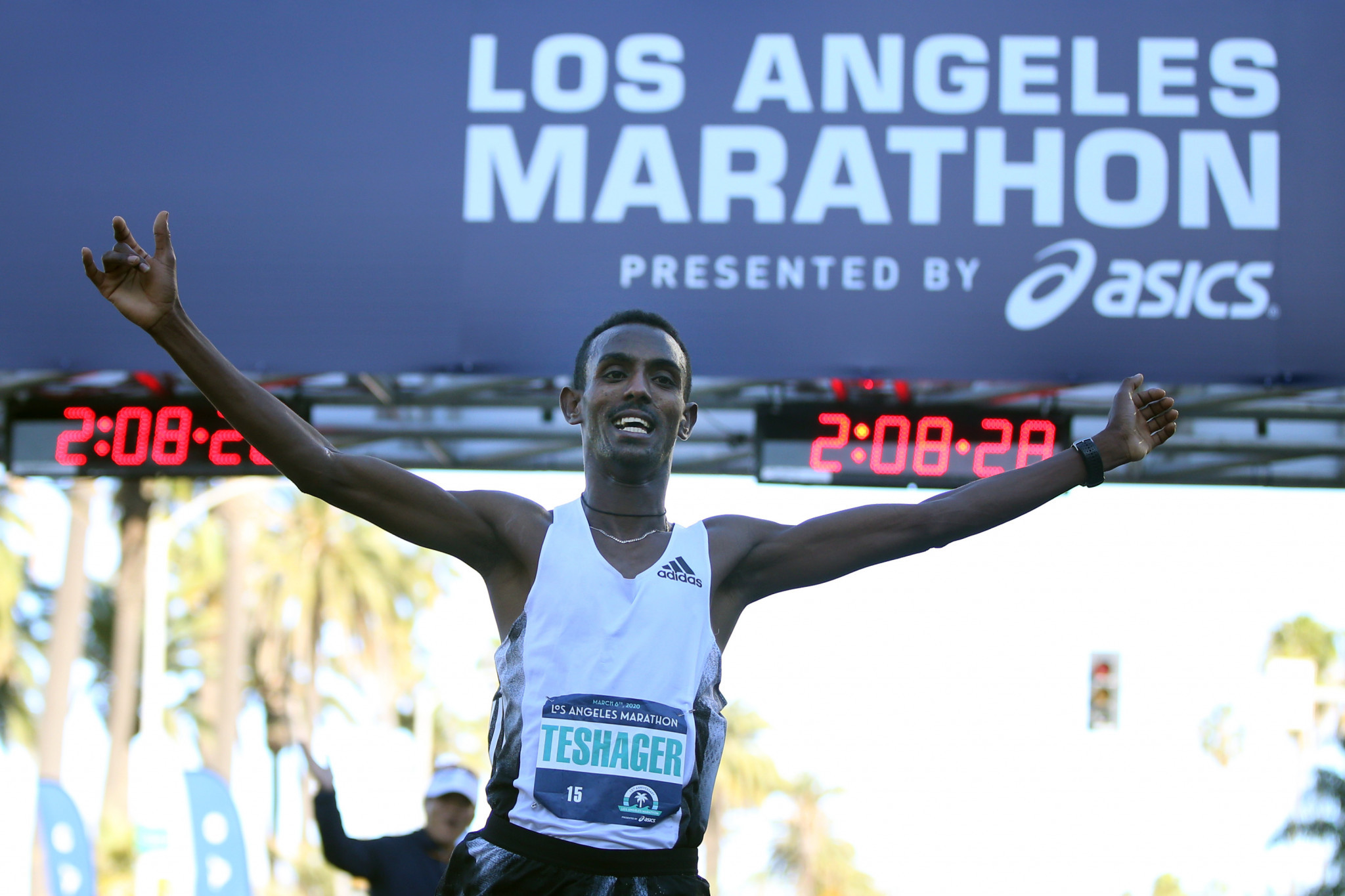 The 2021 Los Angeles Marathon has been postponed for a second time ©Getty Images