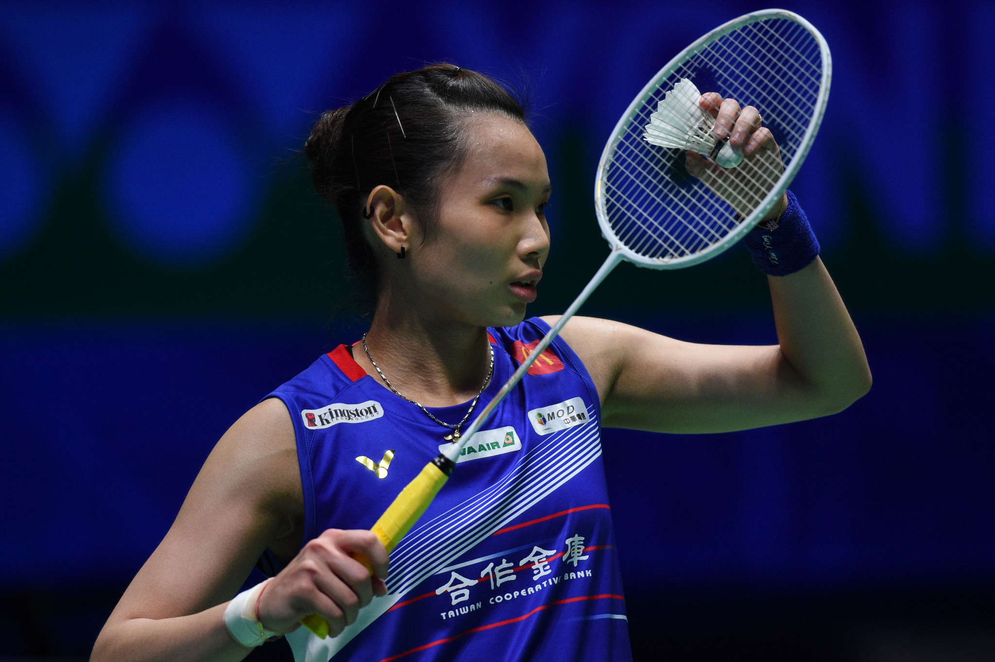 Tai Tzu-ying of Chinese Taipei kept her place as women's world number one after victory at the BWF World Tour Finals last month ©Getty Images