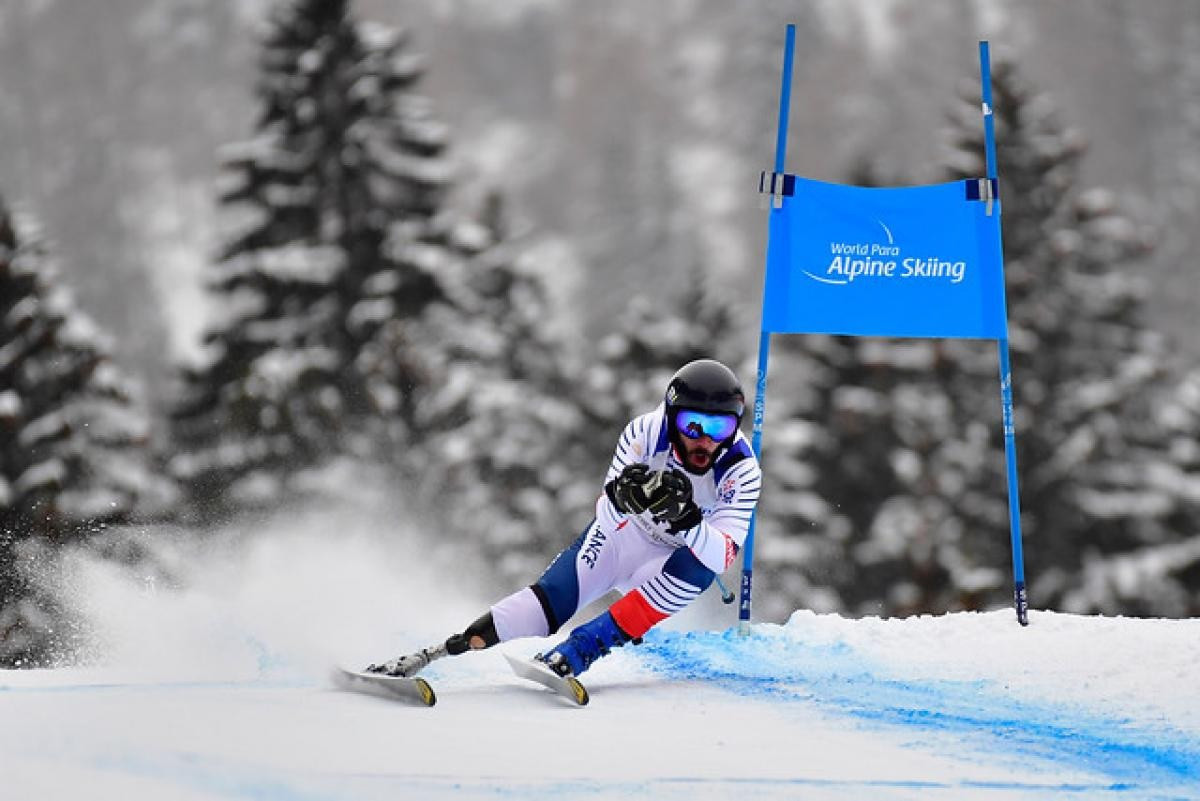 Bourdenx set for Saalbach speed races at World Para Alpine Skiing World Cup