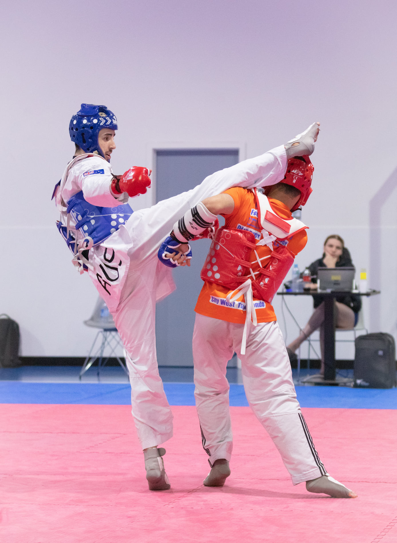 Australian Taekwondo held its first training camp for the first time in more than 12 months ©Facebook