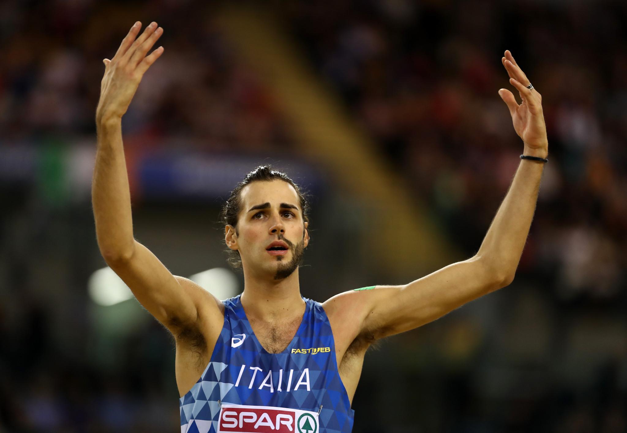 Former world indoor champion Tamberi takes Banskobystrická latka men's high jump title