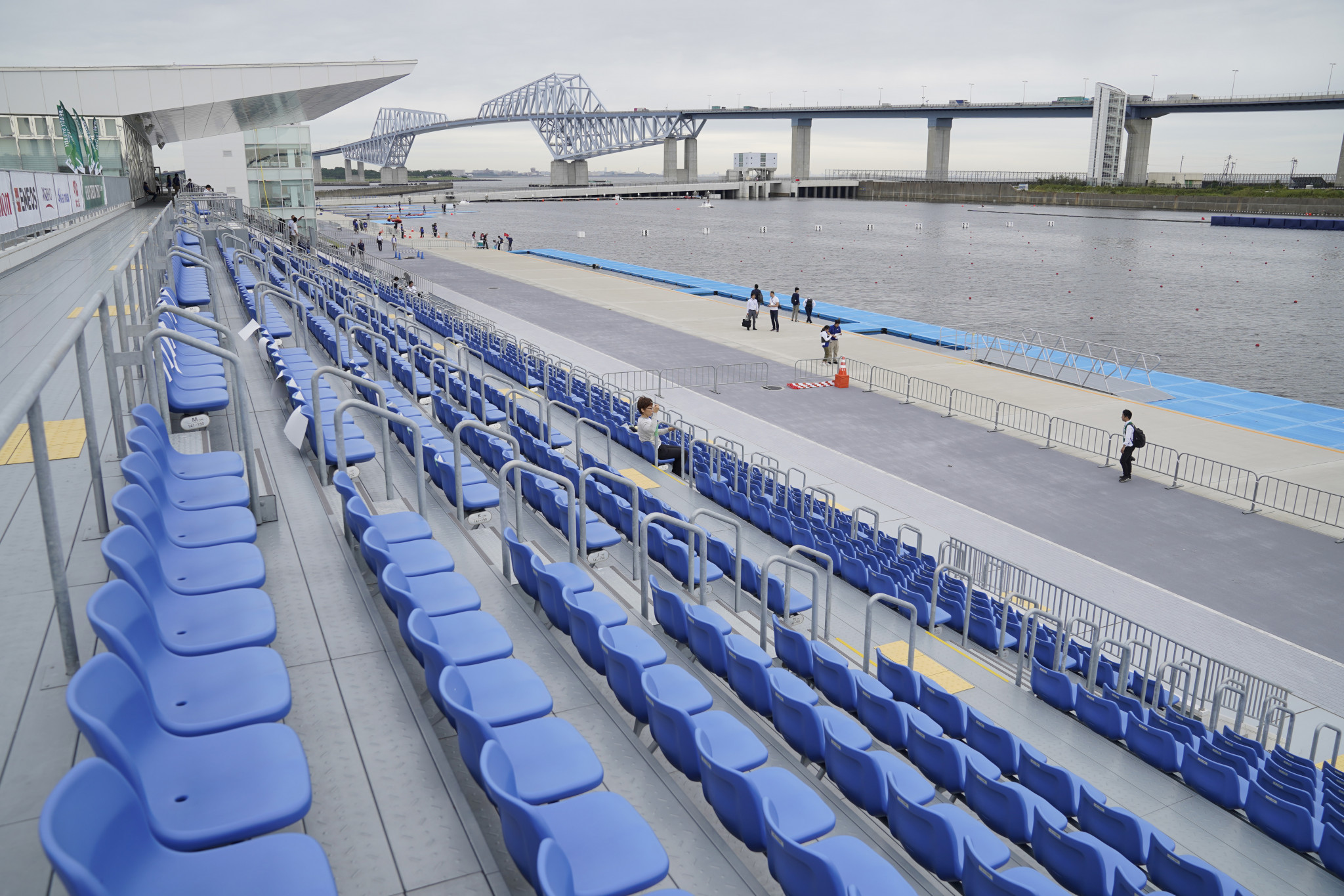 Olympic qualifiers will be hosted at Sea Forest Waterway, the venue that will be used for rowing and canoe events at Tokyo 2020 ©Getty Images