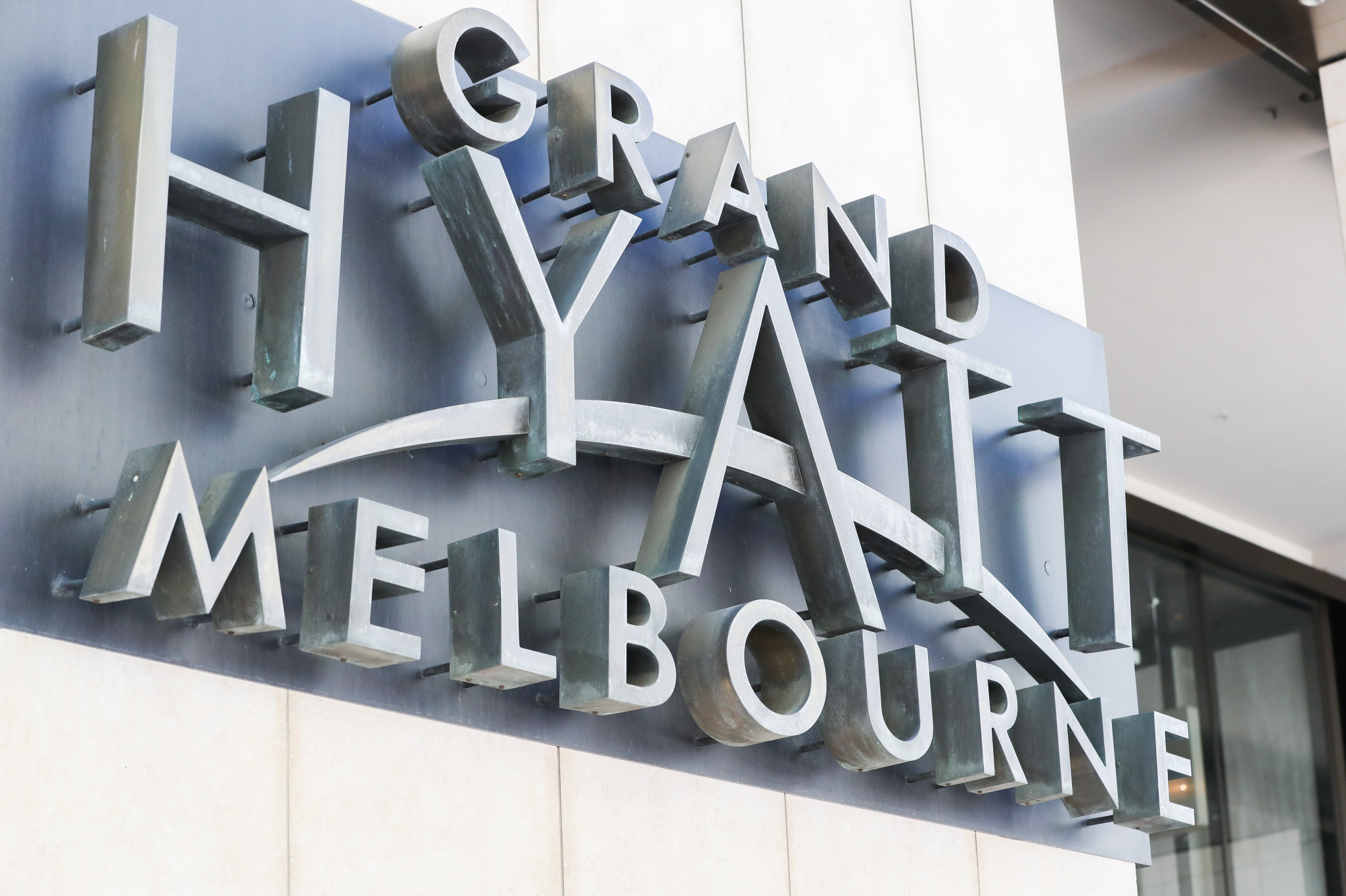 The infected man worked at the Grand Hyatt Hotel in Melbourne ©Getty Images