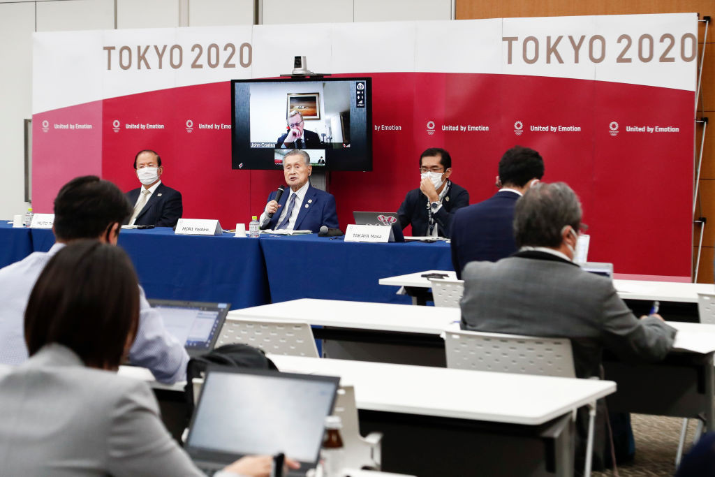 The Tokyo 2020 President reportedly made the remarks in a recent meeting ©Getty Images