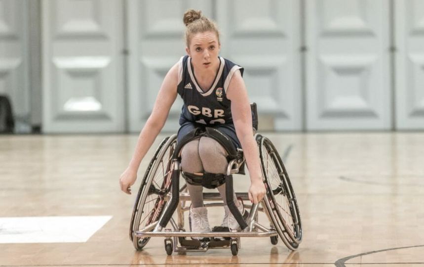 Britain's 3x3 wheelchair basketball player Siobhan Fitzpatrick is looking forward eagerly to the sport making its Commonwealth Games debut at Birmingham 2022 ©paralympics.org