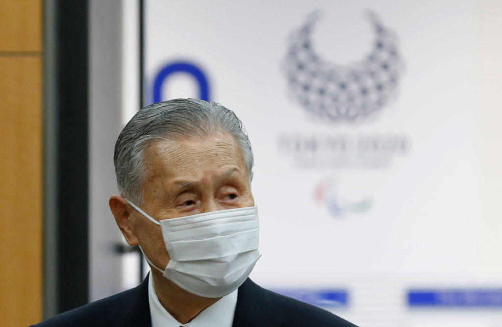 Tokyo 2020 President Yoshirō Mori has apologised but said he will not resign ©Getty Images