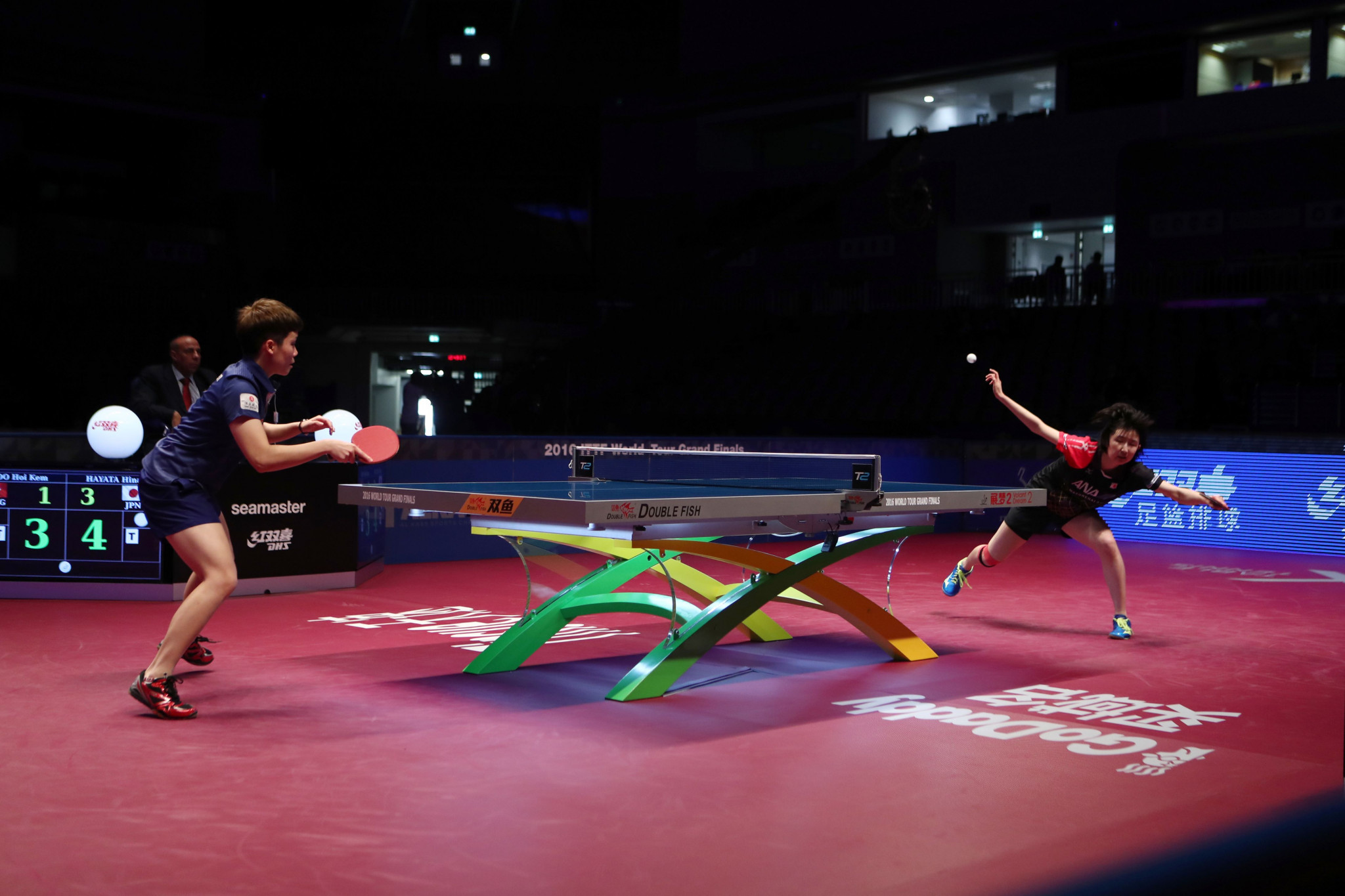 Hong Kong's table tennis team have pulled out of two WTT events over player safety concerns ©Getty Images