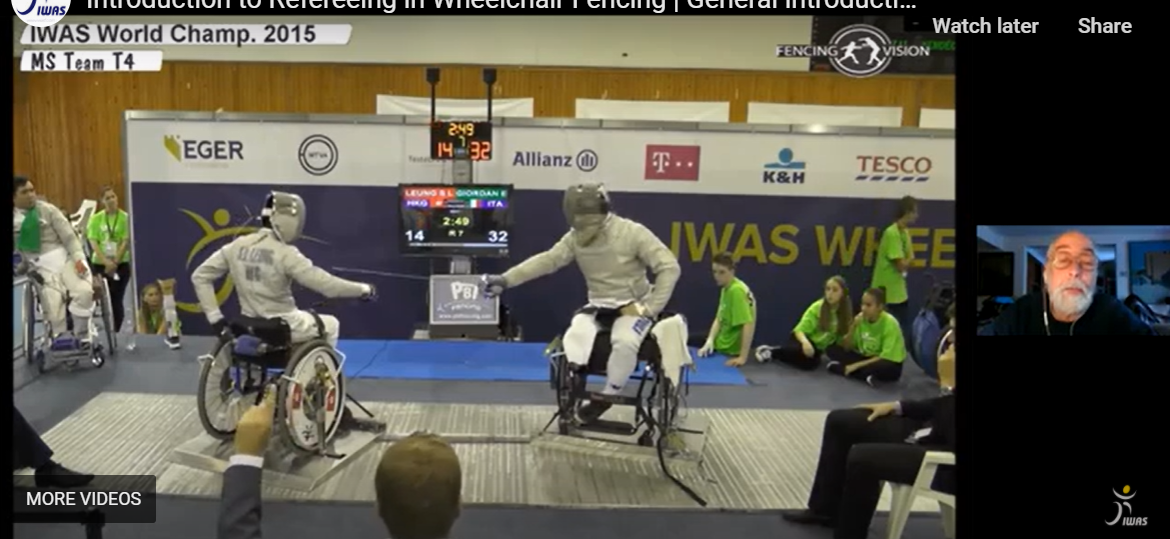 IWAS wheelchair fencing refereeing seminar taken up by participants from 27 countries