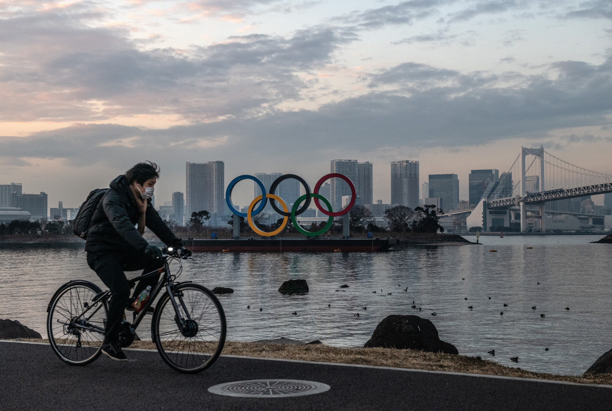 Polls show public support for staging the Olympics and Paralympics this year is low in Japan ©Getty Images