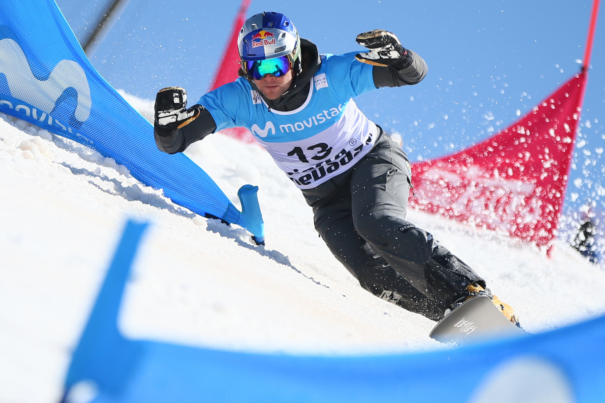 Karl and Hofmeister seeking to extend overall PGS leads at Lake Bannoye Snowboard World Cup
