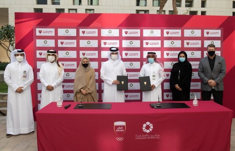 Qatar Olympic Committee accord with Msheireb Properties to create new sporting opportunities