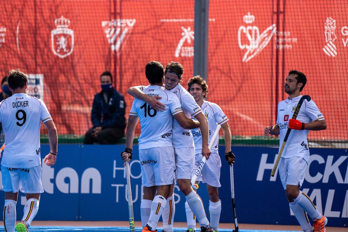 Belgium beat Spain in Hockey Pro League as Dohmen wins 400th cap