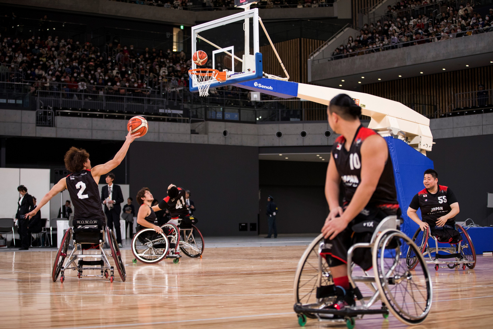 The IWBF are seeking to comply with the IPC Athlete Classification Code ©Getty Images