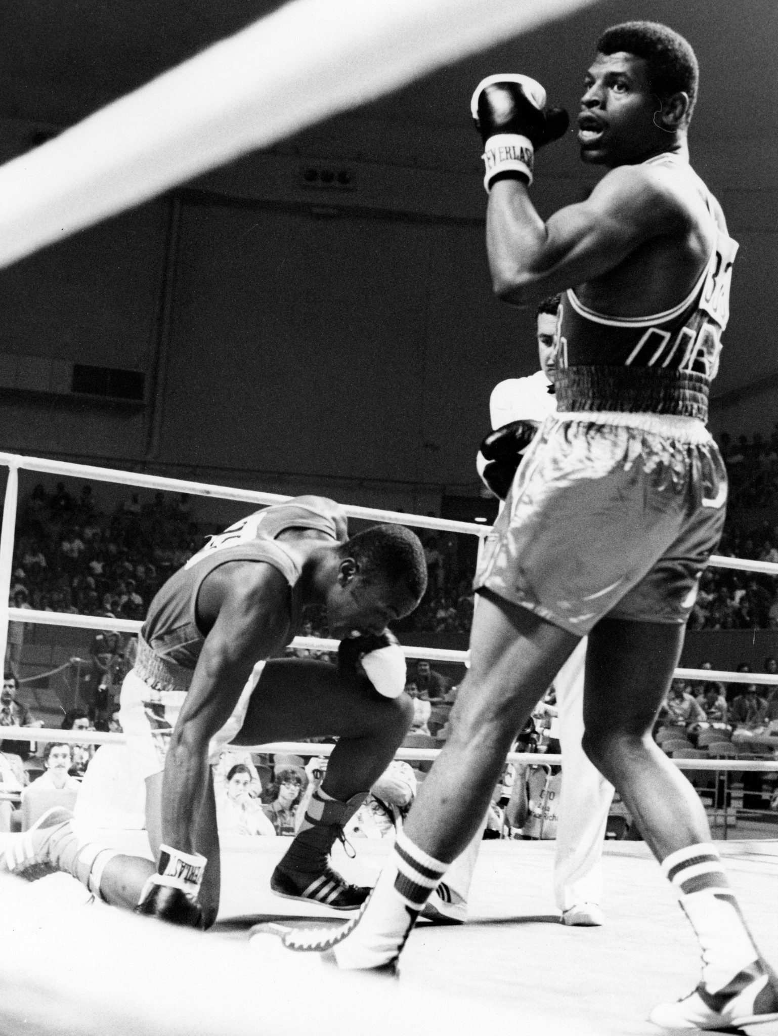 Leon Spinks who clinched gold at the Montreal 1976 Olympic Games has died at the age of 67 ©Getty Images