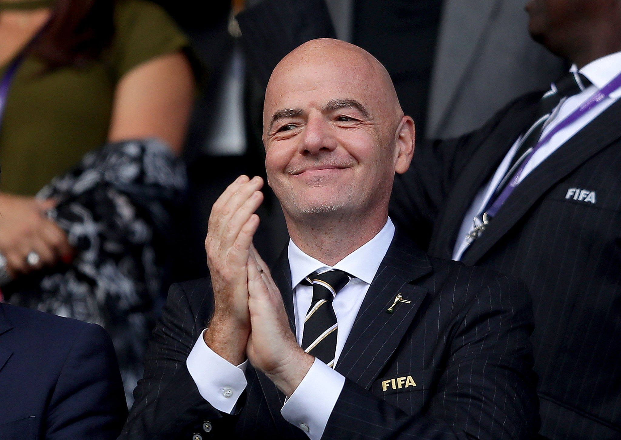 FIFA President vows to boost African football during talks with AU chief
