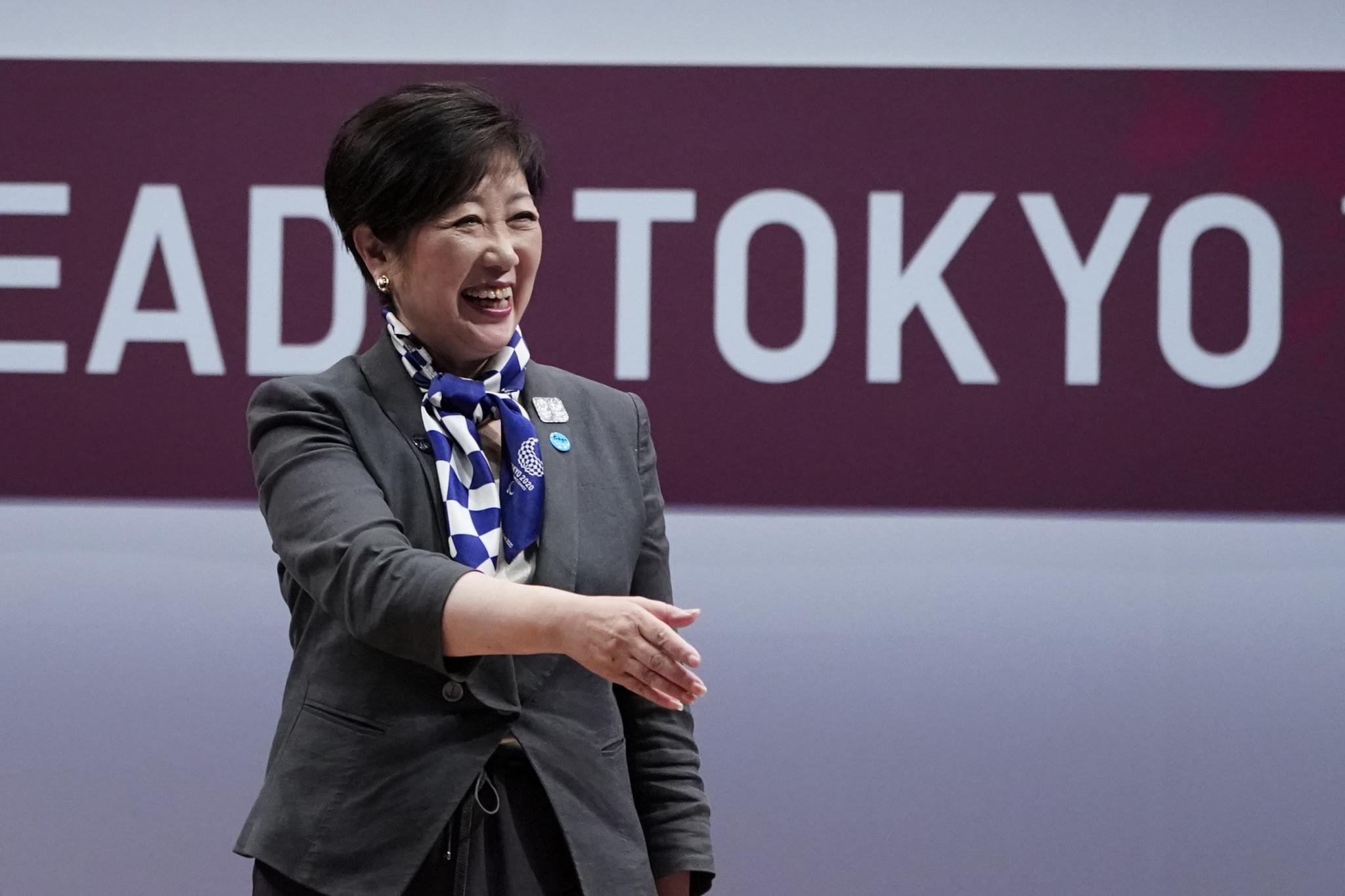 Tokyo Governor Yuriko Koike said she was