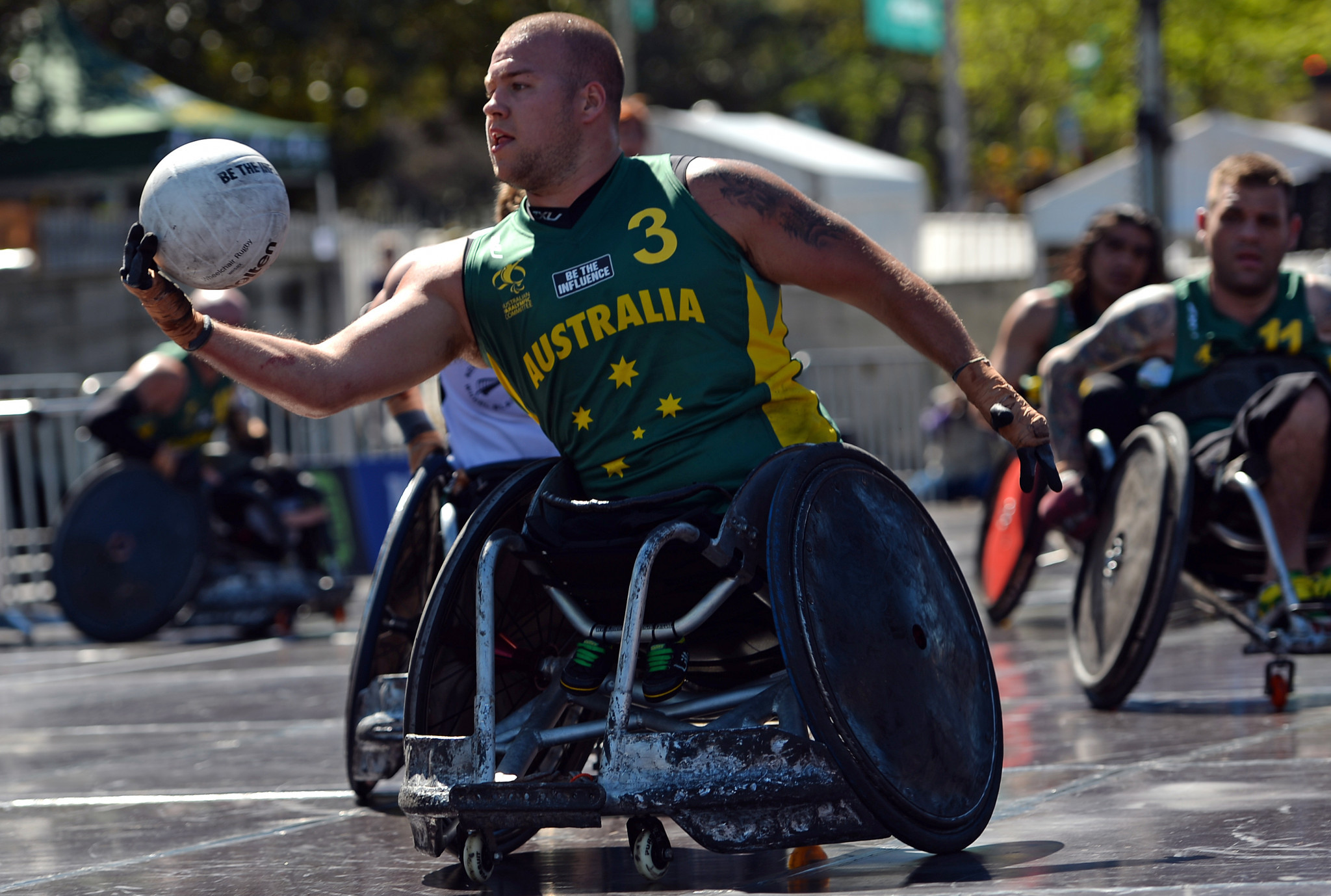 """Wheelchair rugby player Batt refuses to """"skip the line"""" for vaccination for Tokyo 2020"""